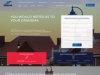 Home Page Elements for Construction Company