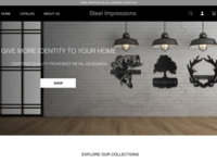 Home Page Elements for Metal Company