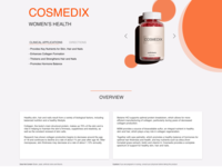 Product Page Elements for Woman's Health Shop