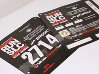 Run SLC Race Bib Design