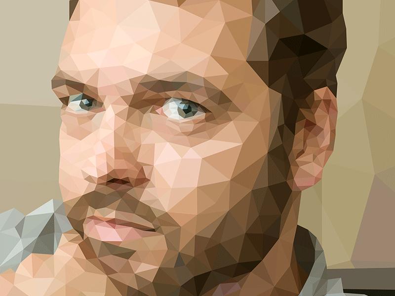 Poly me. geometric chardot polygons poly art poly