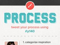 Process twitter feed #p140