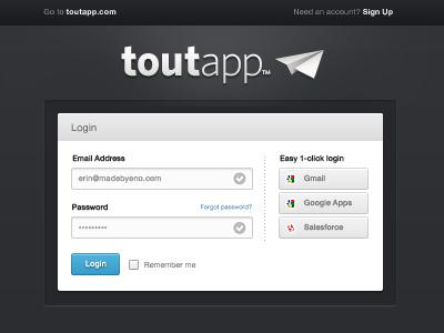 Login option 2 ui web web design login sign up blue input form fields web app