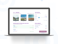 Trip Planner Checkout Experience