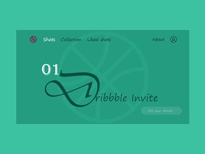 Dribbble-Invite quickdesign invitation dribbble invite dribbble invitation dribbble branding web adobe xd ui