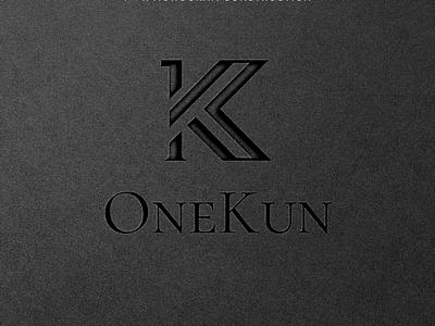 OneKun - Logo Design trend highend logo design clothingbrand logo fashion apparel randong