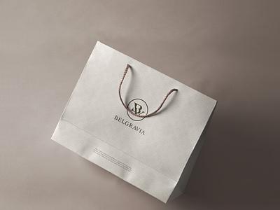 Belgravia - Brand Identity Design initial logo monogram logo design logotype logomark logo design logodesign brand identity branding logo