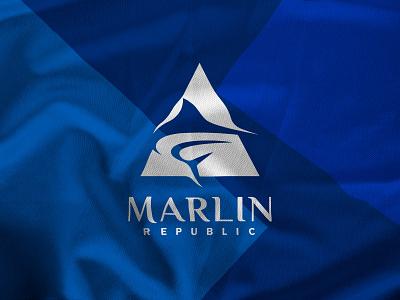 Marlin Republic Identity Design fish logo logomark branding logo design brand strategist brand strategy branding agency identitydesign