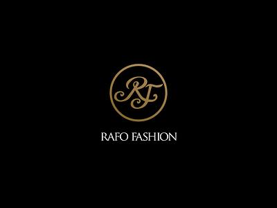 Rafo Fashion logo illustrator gold vector set type letter logodesign logomark branding clothes style fashion new logotype