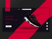 UI Design Shoes Shop