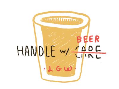 Handle w/ Beer