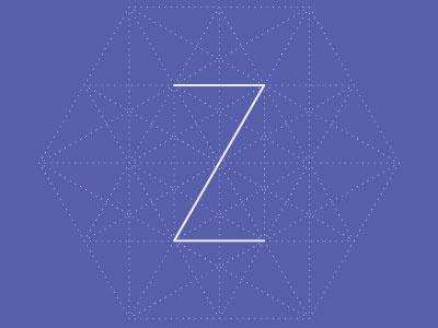 Z-1 typography logo z