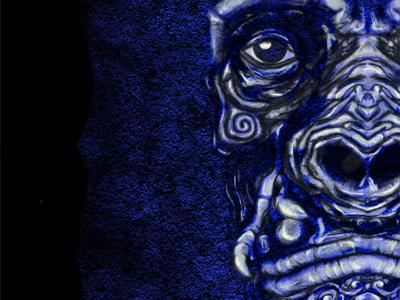 Space Ape art digital illustration