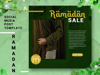 RAMADAN SOCIAL MEDIA POST TEMPLATE website flat web illustration clean minimal identity brand design branding
