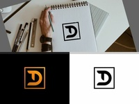 Lettermark T and D on Square