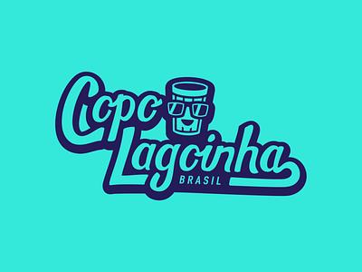 Lagoinha brand logo logo lettering logo handwriting lettering illustration flat vector