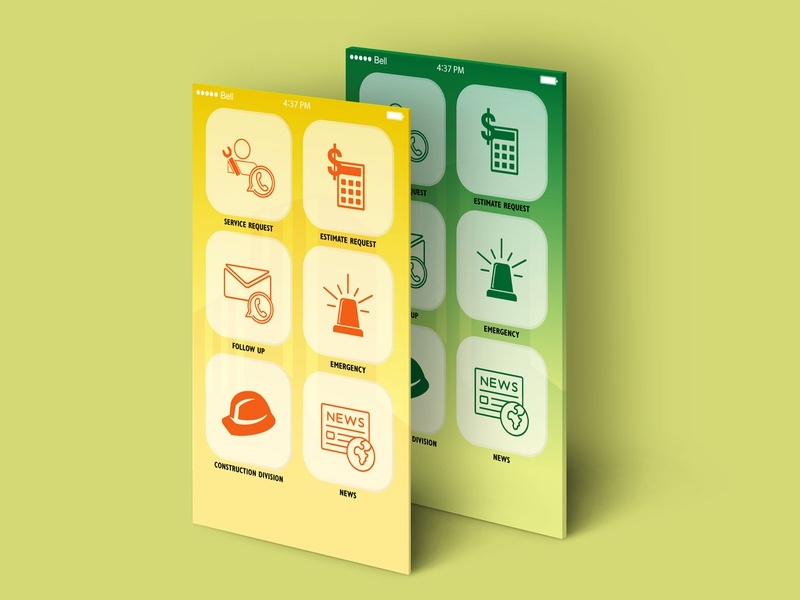 App Icon modern clean icon design icon app
