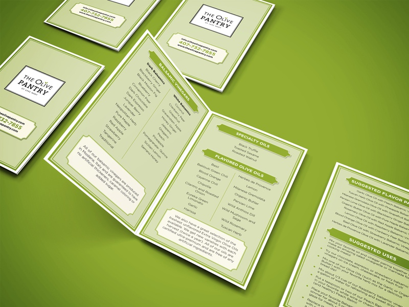 Receipe Card food card printready print design modern clean