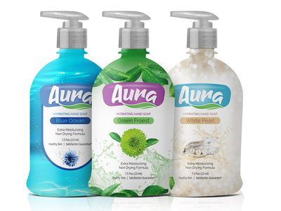 Handwash Packaging soap wrap bottel packaging clean handwash