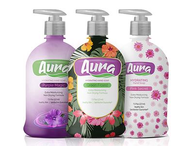 Handwash Packaging bottel wrap packaging clean soap handwah