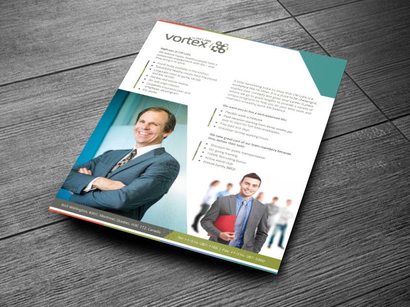 Perks Benifits Brochure print ready technology a4 broucher a4 leaflet a4
