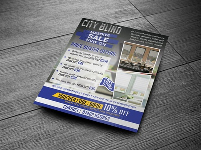 City Blind Flyer 02