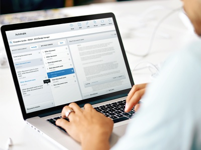 Document Merging App interaction design interface design ux ui information architecture document management dashboard application design app design app