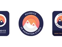 Roundice Logo & Identity