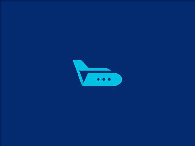 Avio Database Logo business aviation logo mark data folder plane logo design logo