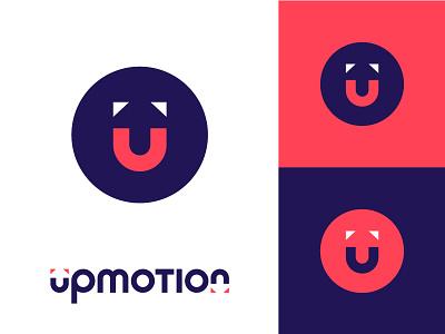 Logo & Branding for UpMotion motion up identity branding brand logo mark logo design logo