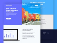 Landing page for specific verticals of business