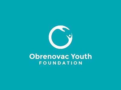 OYF Logo for nonprofit round logo non profit icon branding flat nonprofits nonprofit youth flood monomark vector logo design logo