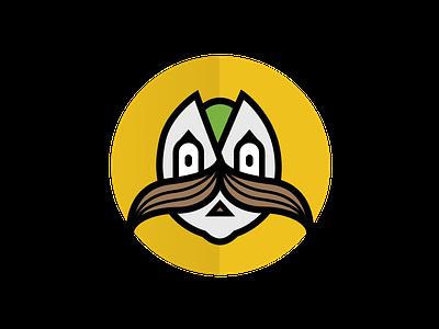 Mustachio postmark pistachio mustache