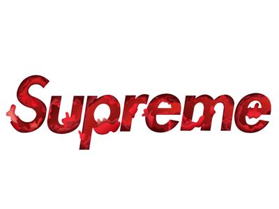 Supreme Final Design logo red graphic design creativity supreme minimal design clean vector illustrator illustration