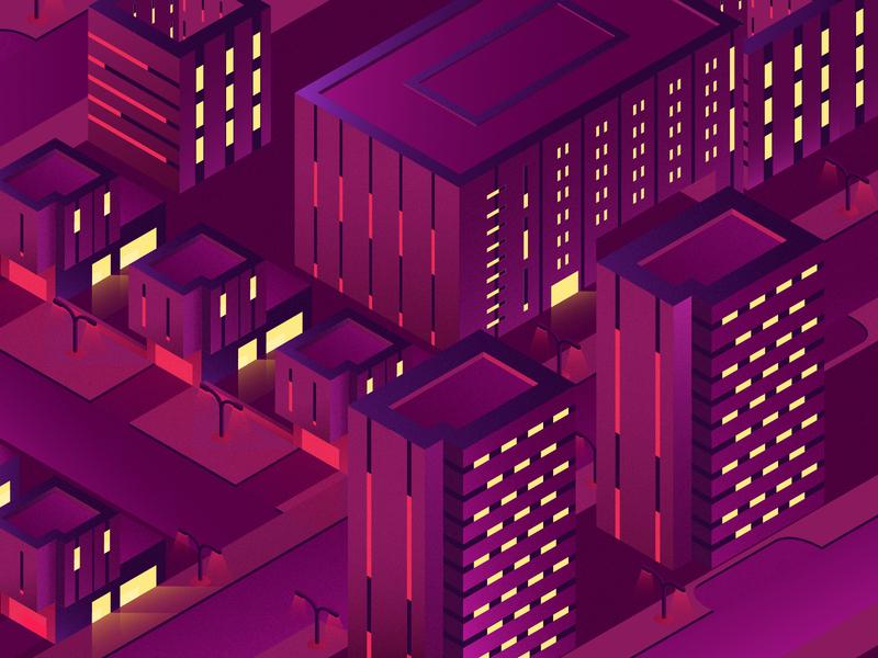 isometric city graphic design flat designs graphicdesign isometricsdesign design vector minimal illustrator illustration flat clean