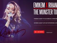 Eminem & Rihanna Ticketmaster Tour