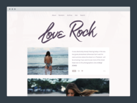 Love Rock Tumblr Theme