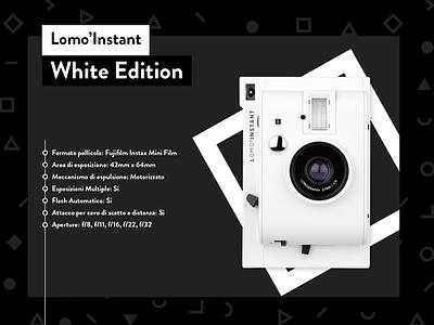 Lomo'Instant - White Edition - Serie 2 lomoinstant pink blue lomography slider murano yellow photography gradient design flat lomo