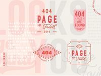 404 Error Page | Typography
