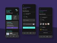 Business App | UX UI Design | Work in progress