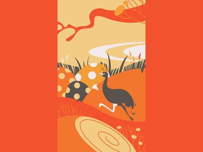 Ostriches