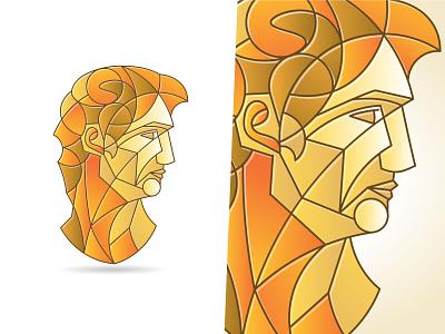 Geometric Collage #02002C renaissance stone circles solid shape sculpture art michelangelo david illustrator vector shapes circle line abstract design geometry geometric lines illustration