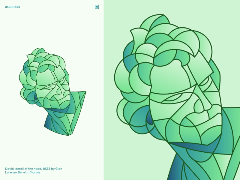 Geometric Collage #02002D