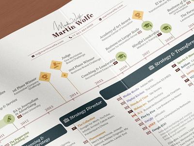 CV Timeline Dataviz design professional data visualization branding ui print diagram chart visualization signature cv resume timeline infographics infographic data dataviz