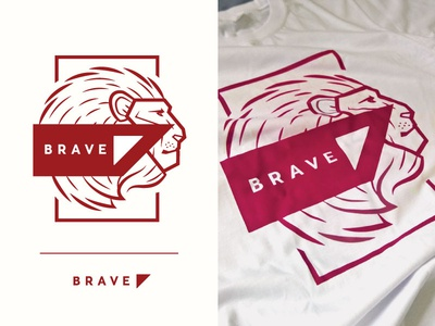 BRAVE T-shirt Design #01910A