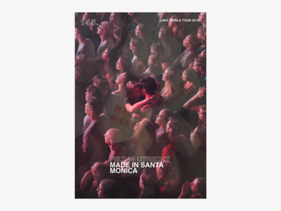 LANY - Music poster