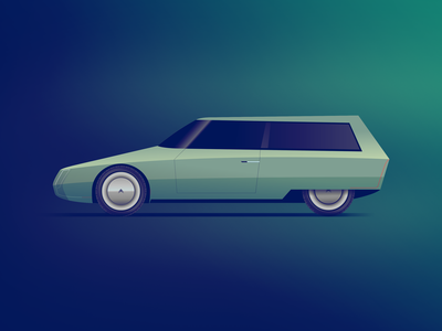 Citroën GS Break reimagined