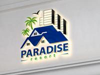 Paradise Resort Logo.