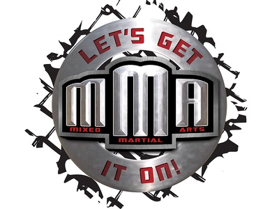 Let's Get it On! MMA Event events logo promo