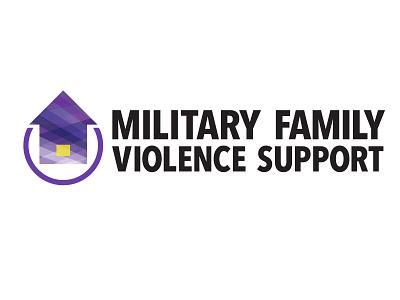Military Family Violence Support Logo branding logos design